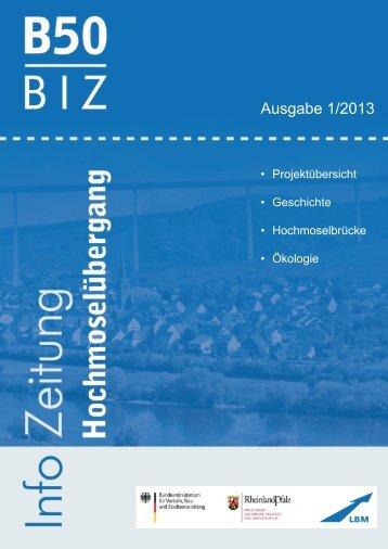 Infozeitung Ausgabe 1/2013 (pdf, 7.1 MB) - B50 Hochmoselübergang