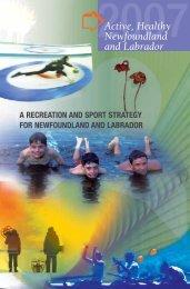 Active Healthy Newfoundland and Labrador (2007) - Tourism ...