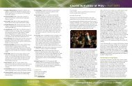 2011 Choral Newsletter - MSU College of Music - Michigan State ...