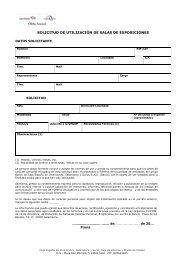 Descargar solicitud de utilización - Caja España-Duero
