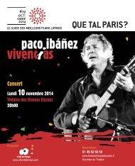 QUE TAL PARIS - le guide des meilleurs plans latinos