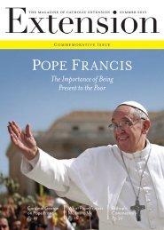 POPE FRANCIS - Catholic Extension