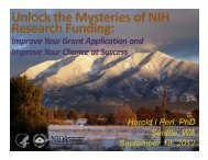 Research Grant Applications