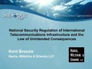 National Security Regulation of International Telecommunications ...