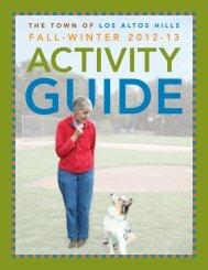 Fall Winter 2012-13 Activity Guide FINAL.pdf - Los Altos Hills