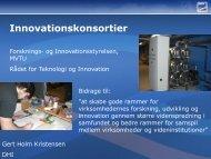 Innovationskonsortier - Forskningsplatformen