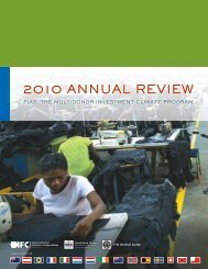 FIAS Annual Review 2010 - Investment Climate