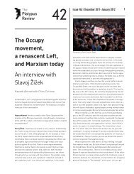 The Occupy movement, a renascent Left, and Marxism ... - Platypus