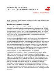 Gemeinschaftlich zur Nachhaltigkeit - VdL Verband der ...