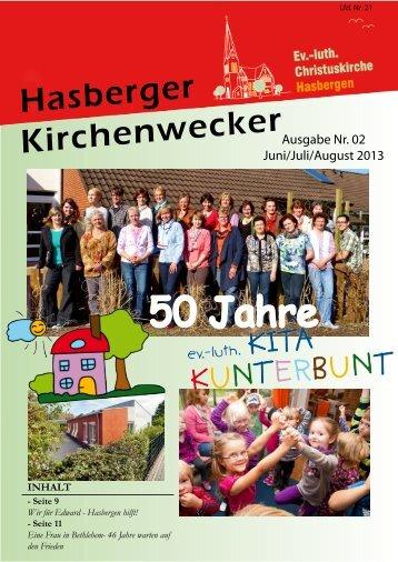 50 Jahre - Evangelische Kirche Hasbergen
