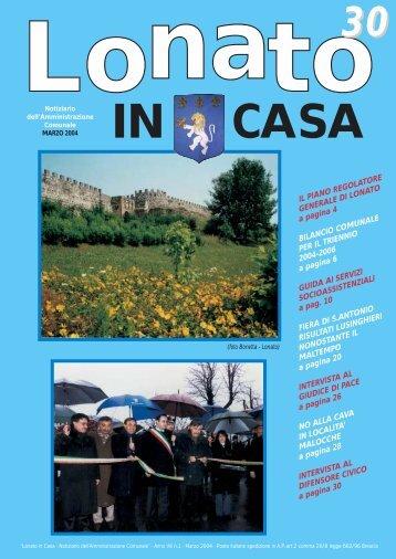 marzo 2004 - Comune di Lonato del Garda