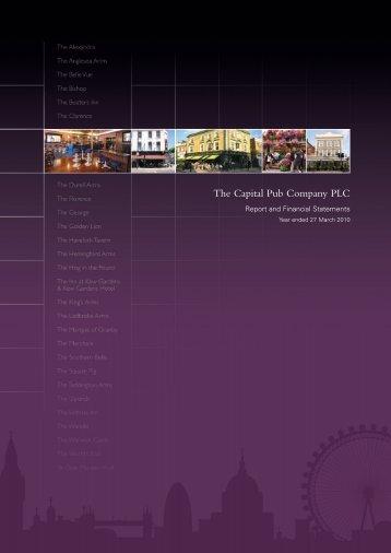 The Capital Pub Company PLC - The Group