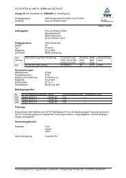 GUTACHTEN zur ABE Nr. 47394 nach §22 StVZO Anlage 26 zum ...