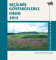 ORDU - Türkiye İstatistik Kurumu