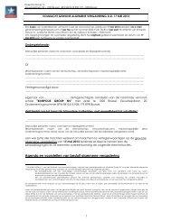 Volmacht tot de Algemene Vergadering 17 mei 2013 - Kinepolis