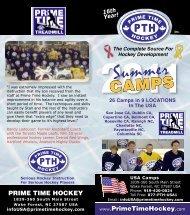 Summer Brochure - Prime Time Hockey
