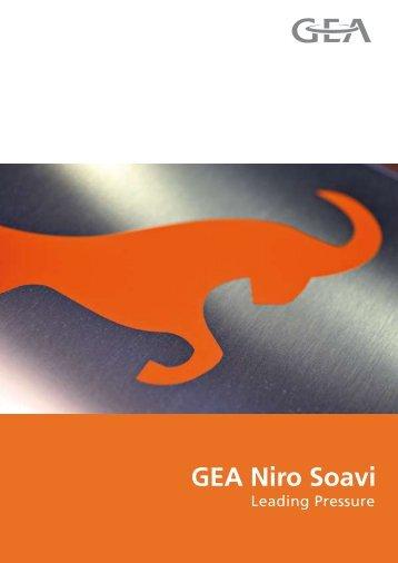 GEA Niro Soavi - GEA Mechanical Equipment