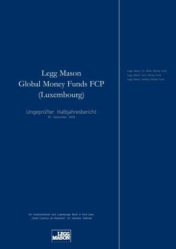 Legg Mason Global Money Funds FCP (Luxembourg)