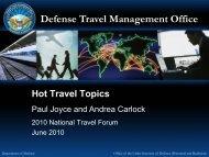 Defense Travel Management Office