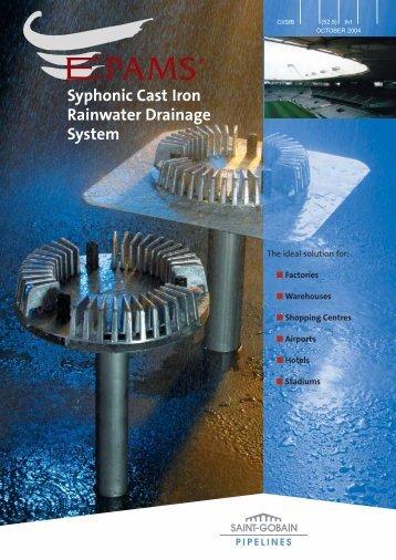 EPAMS Siphonic System Manual - Saint-Gobain PAM UK