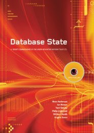 Database State - The Computer Laboratory