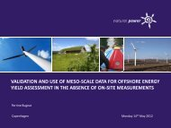 VALIDATION OF THE MESO-SCALE MODEL