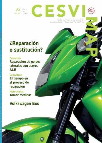 ¿Reparación o sustitución? - Revista Cesvimap