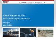 Global Hunter Securities GHS 100 Energy Conference - PrecisionIR