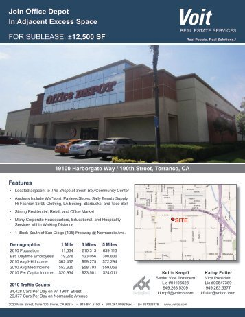 Brochure - Voit Real Estate Services