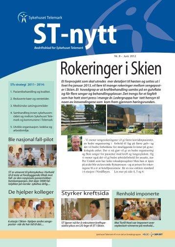 ST-Nytt nr. 8, 2012 - Sykehuset Telemark