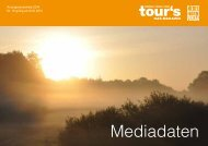 Download Mediadaten - Tours Magazin