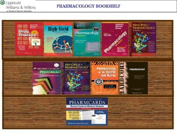 PHARMACOLOGY BOOKSHELF
