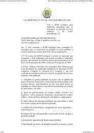 Sistema de Legislação do Es... - Bem vindo ao Portal da SEFAZ-PI