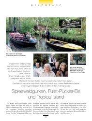 Spreewaldgurken, Fürst-Pückler-Eis und Tropical Island
