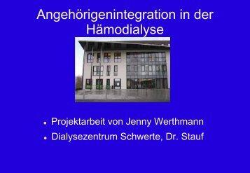Jenny Werthmann - WB-nephro.de