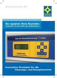 So sparen Ihre Kunden - Hans G. Werner Industrietechnik GmbH