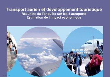 Retombées touristiques des dessertes aériennes ... - Atout France