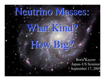 US-Japan seminar on Double Beta Decay and Neutrino Mass