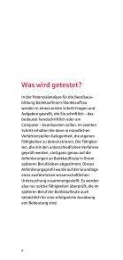 Informationen zur Potenzialanalyse für die Berufsausbildung ... - Seite 6