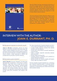 Interview with the Author - Global Initiative to End All Corporal ...