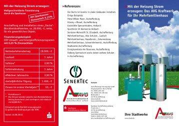 Das AVG Kraftwerk für Ihr Mehrfamilienhaus - Sparkasse ...