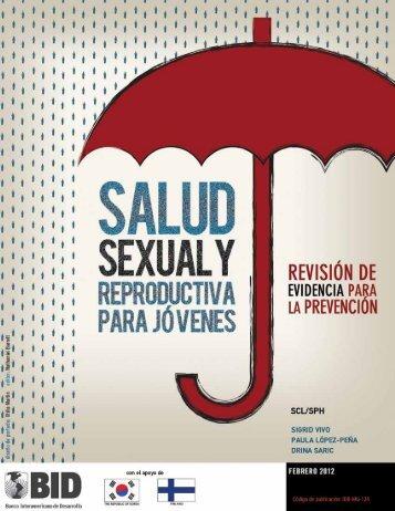 Salud Sexual y RepRoductiva paRa JóveneS: ReviSión de ... - codajic