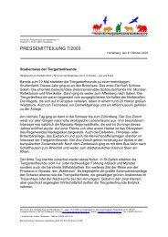 Studienreise an den Bodensee - Tiergartenfreunde Heidelberg eV