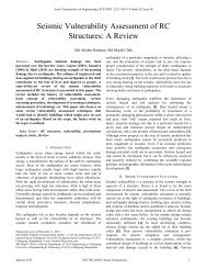 Seismic Vulnerability Assessment of RC Structures - Asian ...