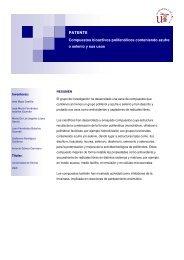 Compuestos bioactivos polifenólicos conteniendo azufre o ... - OTRI