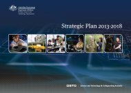 Strategic Plan 2013-2018 - Defence Science and Technology ...