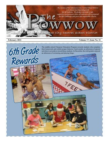 6th Grade Rewards - Salamanca City School