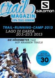 trail-running-camp 2013 lago di garda 20.3.-23.3 ... - Trail Magazin