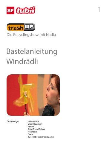 Bastelanleitung Windrädli 1