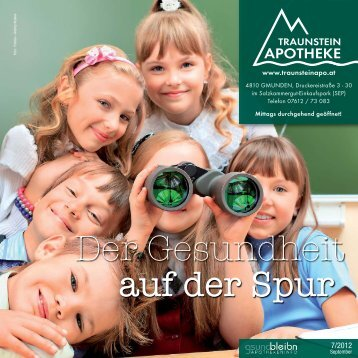Download Magazin September 2012 - Traunstein Apotheke